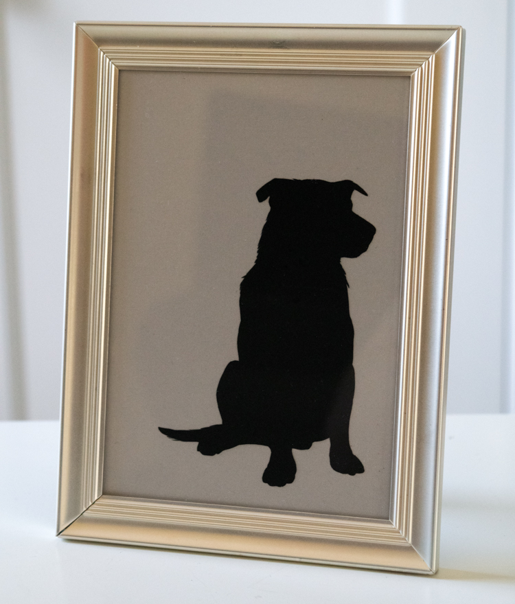 Make a Cutout Silhouette of Your Dog (or Kid)