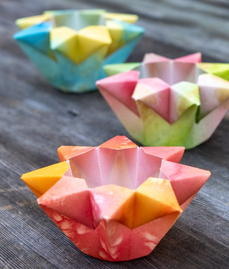 Paper Lanterns Can Be Made from Watercolor Paper