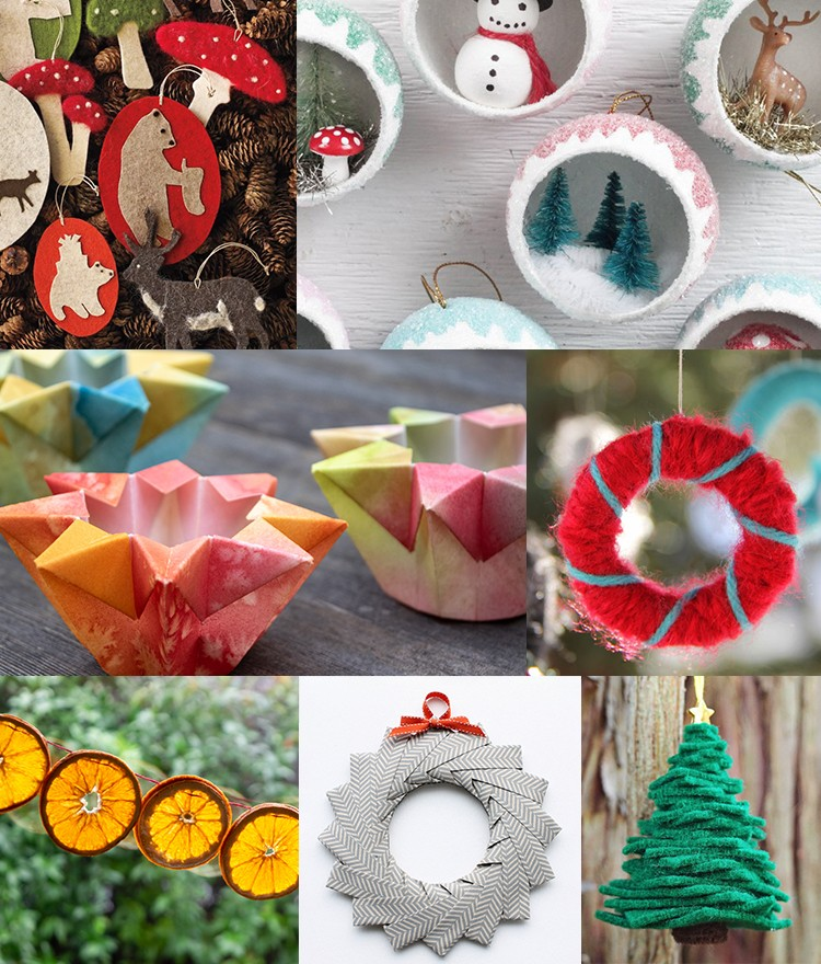 roundup of christmas crafts