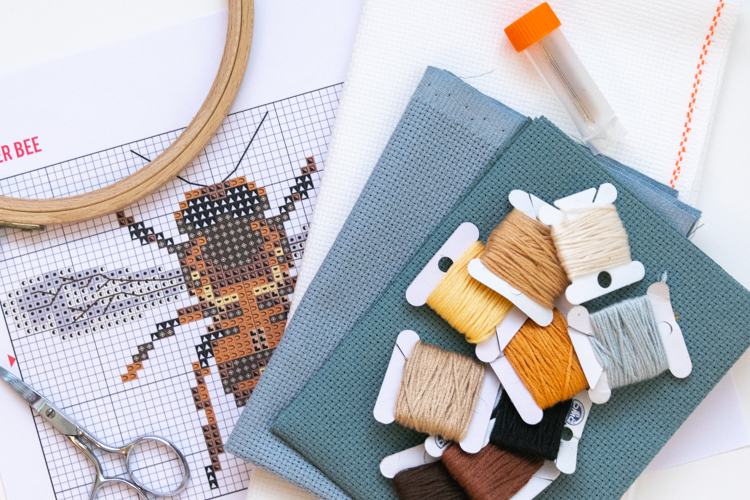 Beginner Cross Stitch Supplies