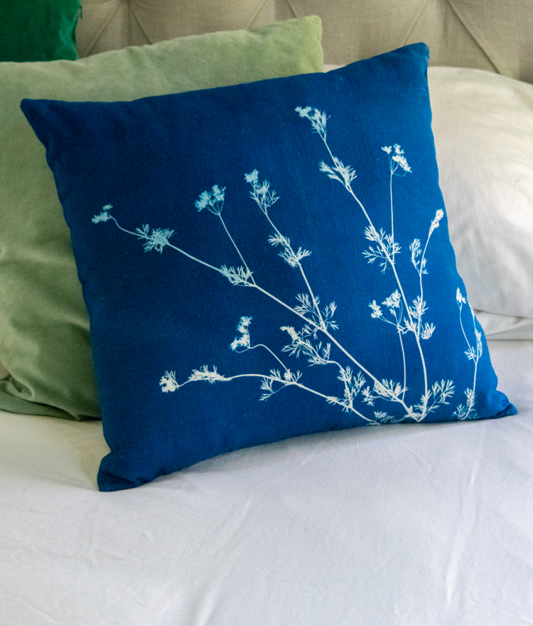How to Make Cyanotypes on Fabric